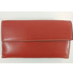 Lodis Red Convertible Clutch